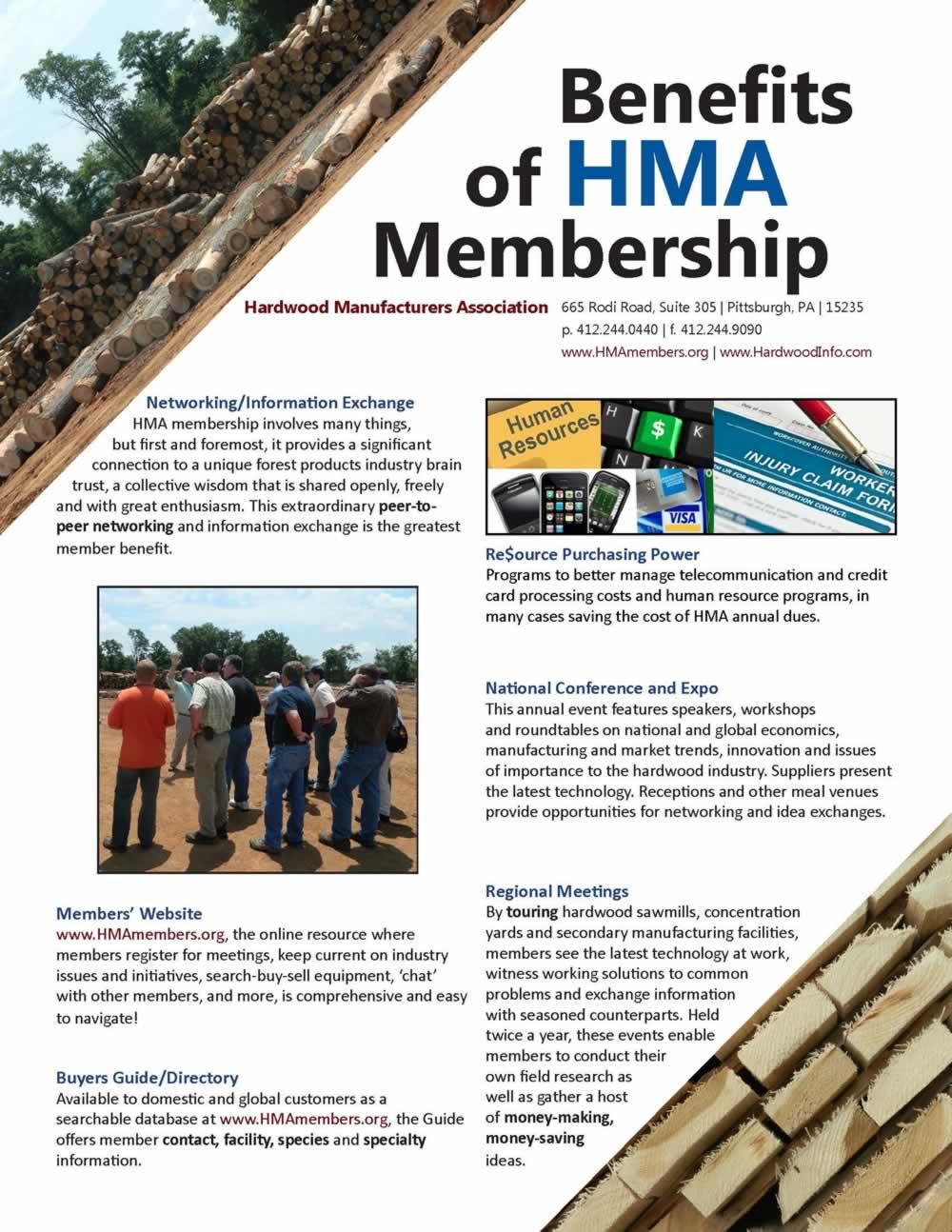 Benefits of HMA Membership